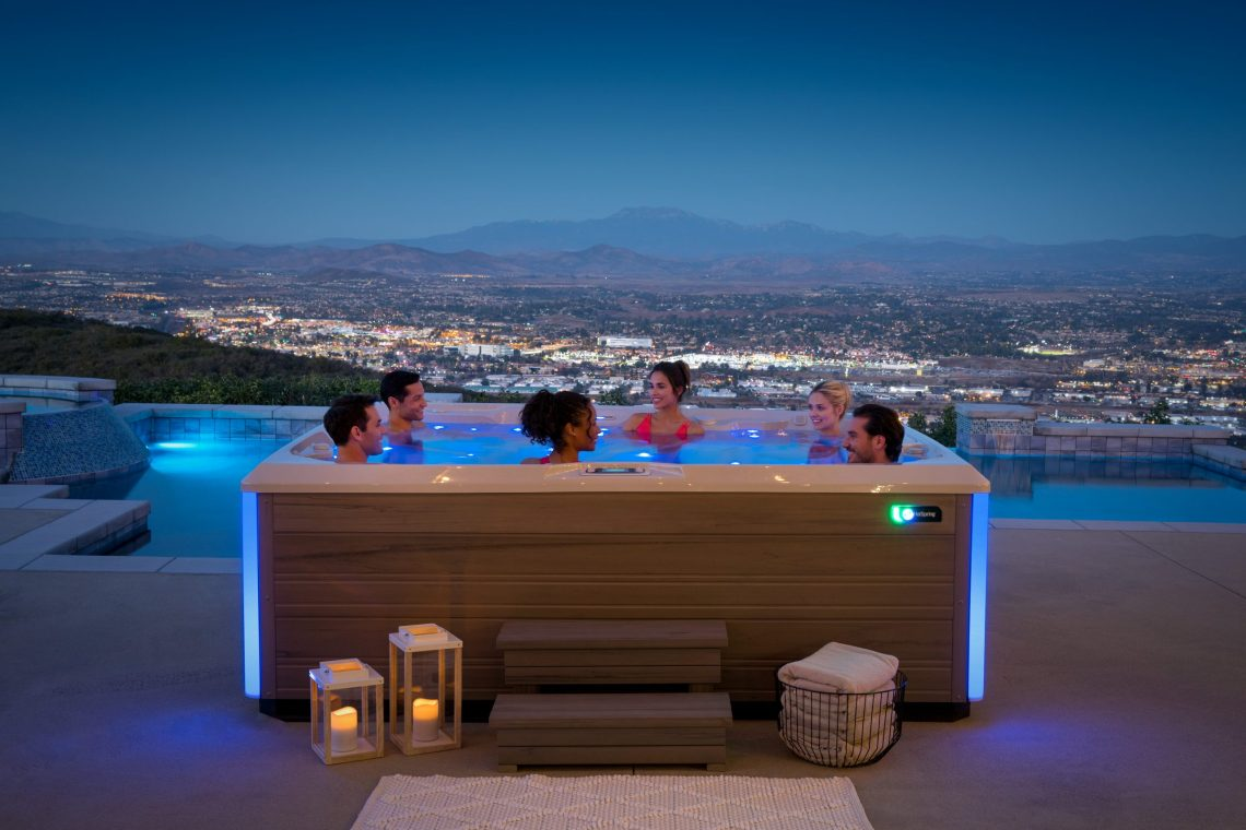 spa led hotspring