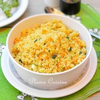 Semoule-légumes