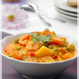 Korma végétarien (plat indien)