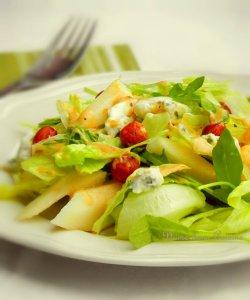 salade poire gorgonzola2