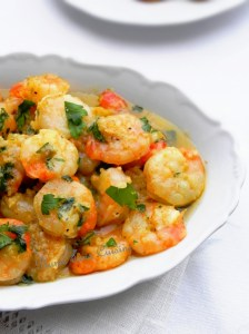 crevettes marinées ail, huile olive, persil (29)