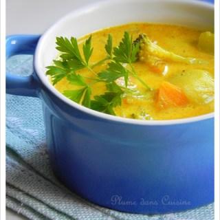 Soupe au curry