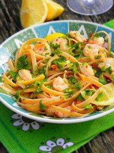 linguine ail et crevettes (17)