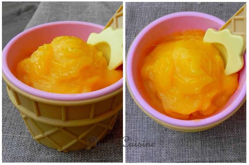 Glace-mangue-légère