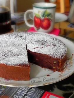 Gâteau banane-chocolat (4)