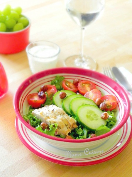 Salade-de- poulet-sauce-bleue