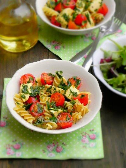 pâte tomate mozzarella (1)