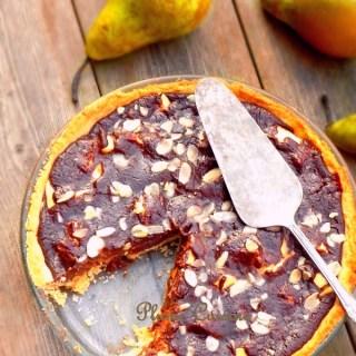 Recette-tarte-poires-et-chocolat