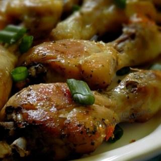 Cuisses de poulet au four (bien croustillantes)