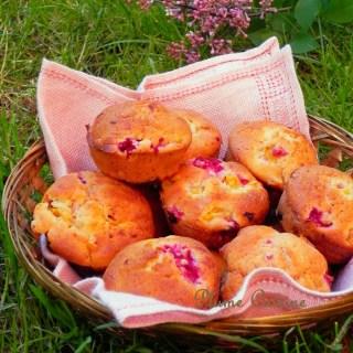 Muffins framboises et mangues