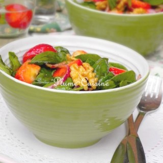 Salade-épinard-et-fraises