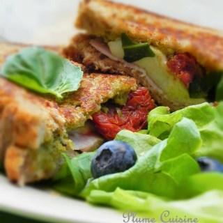 sandwich-grillé-mozzarella-tomates