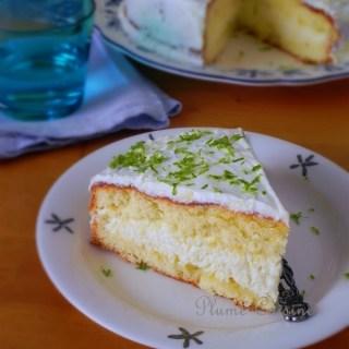 Gâteau mousse coco