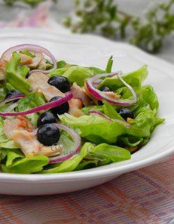 salade-poulet-myrtilles