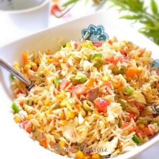 Salade de riz classique