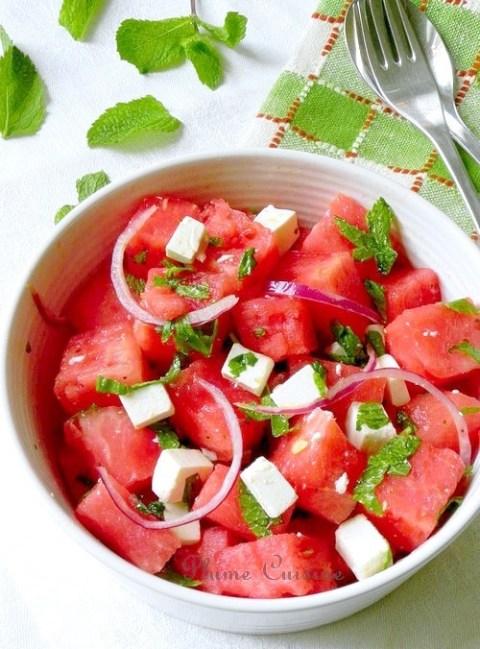 salade-pastèque-feta-menthe