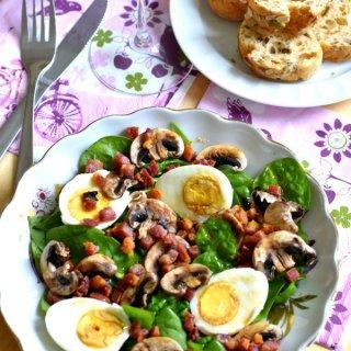 Salade-épinard