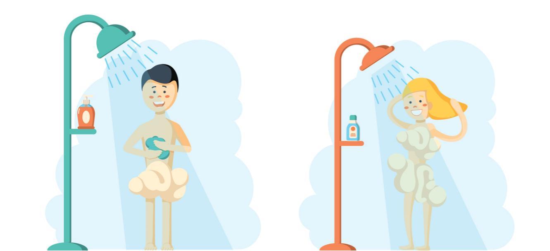 erreurs majeures dans leur douche