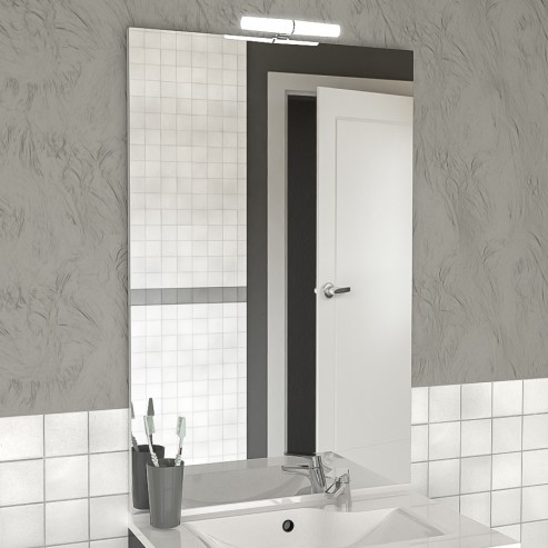 Miroir Avec Applique Pour Salle De Bain