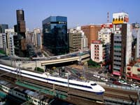 Bullet_Train_Ginza_District_Tokyo_Japan