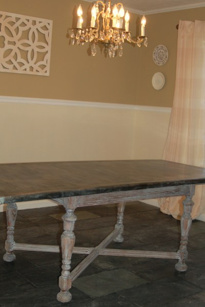 My Table is FINISHED!!