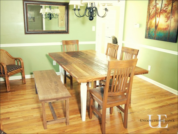 Ideal  Angela Barn wood Table
