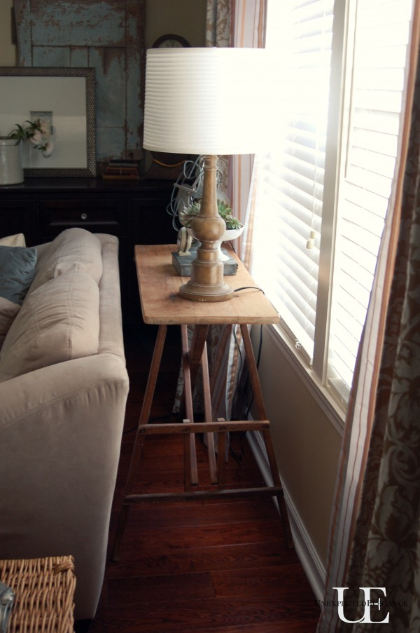 Ironing Board To Sofa Table Unexpected Elegance