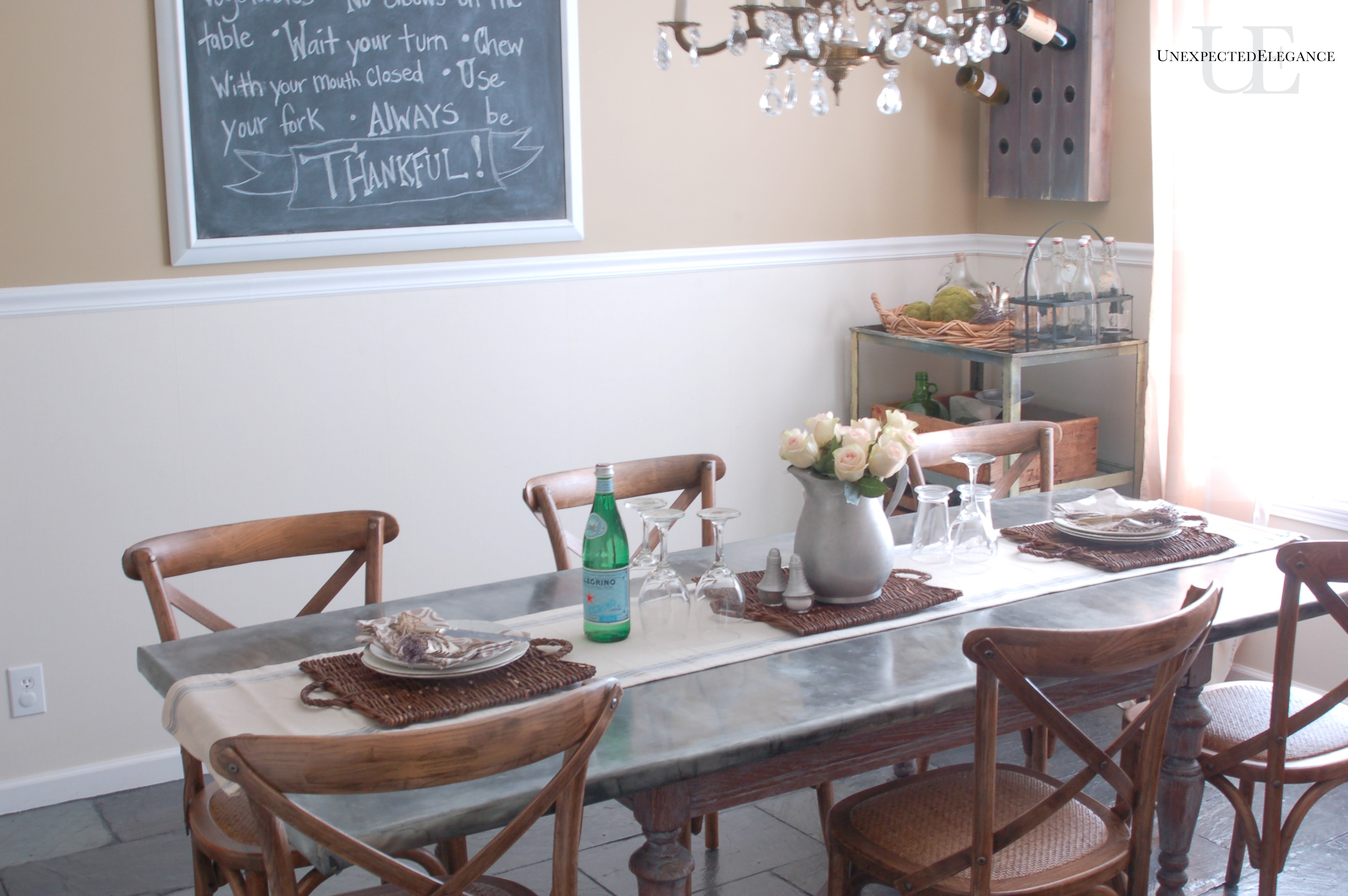 dining room makeover details - Unexpected Elegance