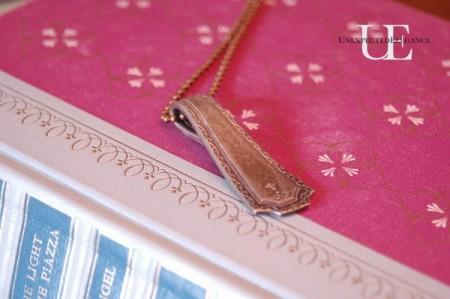 Silverware Necklace Charm tutorial from Unexpected Elegance