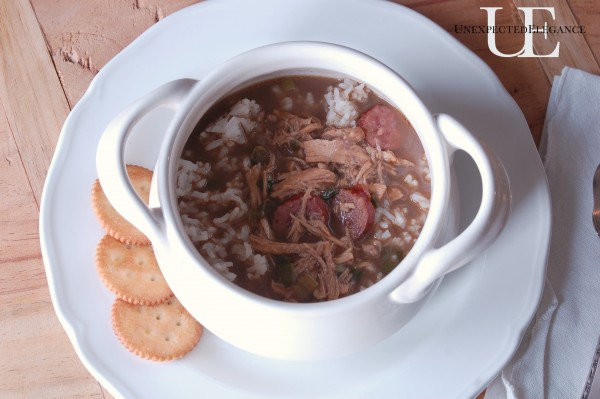 Gumbo Recipe from Unexpected Elegance