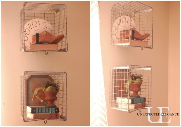 Locker Basket Shelves at Unexpected Elegance