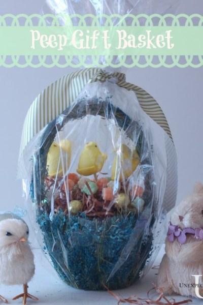 Peep Pop Gift Basket