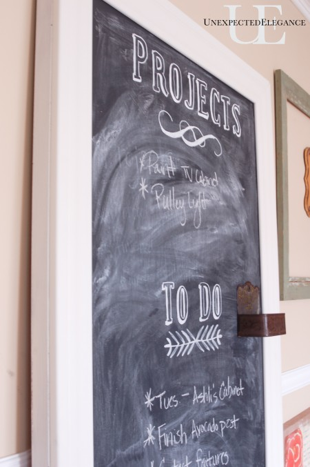 DIY Chalkboard at Unexpected Elegance (1 of 1)