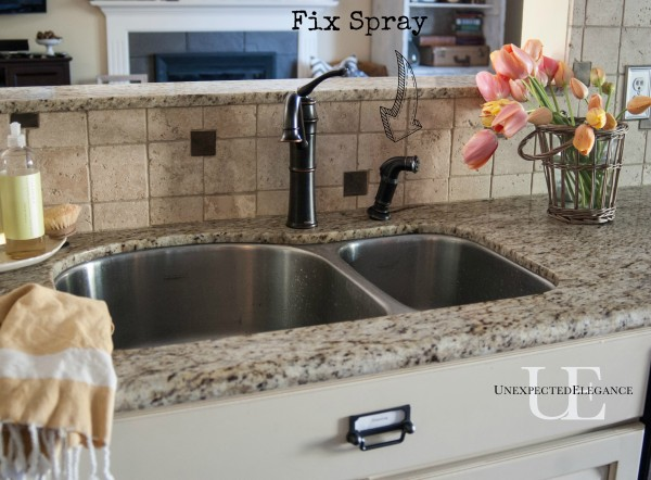 New Kitchen Faucet  and hardware at Unexpected Elegance