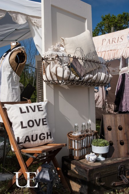 Unexpected Elegance Booth at The Vintage Farmhouse Spring Market (1 of 1)-3
