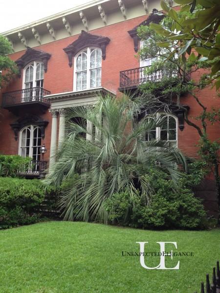 Mercer House in Savannah Georgia