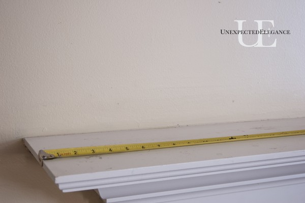 Steps for Making a wider Mantel (1 of 1)