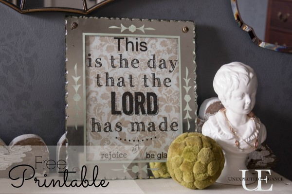 This is the Day Free PRINTABLE