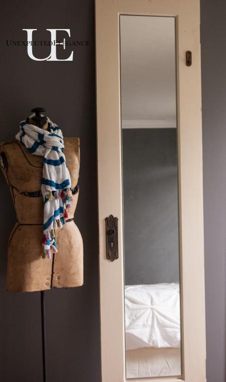 Old Door Turning Dressing Mirror (1 of 1)-2
