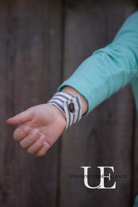 DIY Girl's bracelet from a Napkin Ring