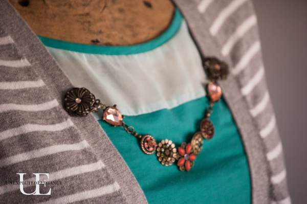 How to Make a Cardigan Chain. Great for Gift Giving!