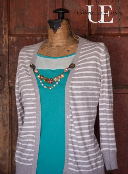 How to Make a Cardigan Chain. Great for Gift Giving-1-3