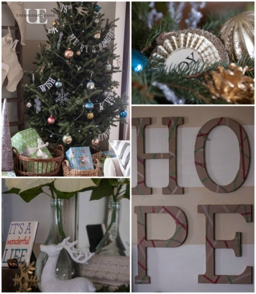 Christmas House Tour 2013- Unexpected Elegance