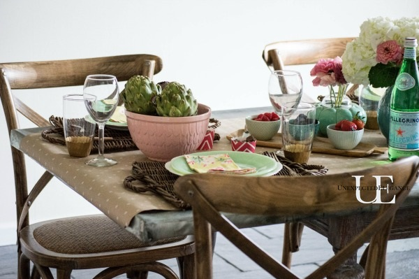 Spring Dining Room Tablescape-1-13