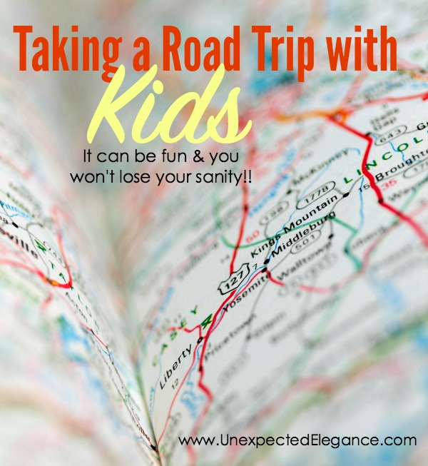 If you are thinking about taking a road trip with young children, then check out these 10 tips to help you have fun and save your sanity.