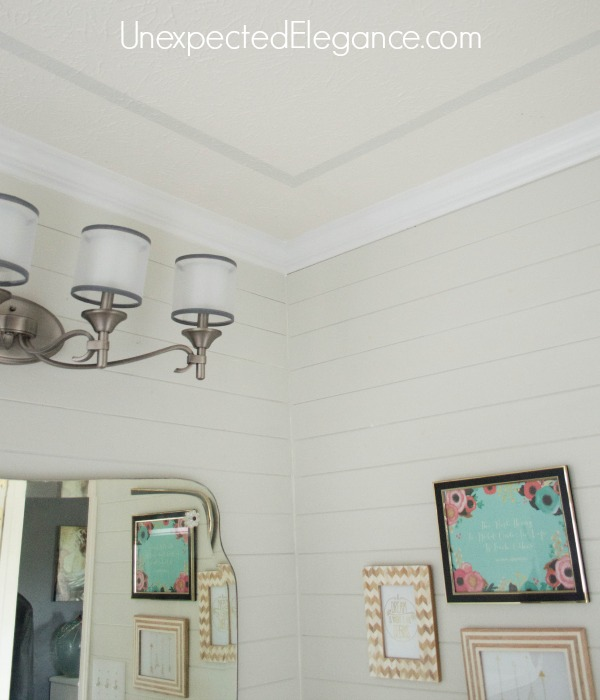 Easily Add Interest to Your Ceiling and Make the Room feel Taller