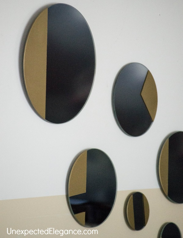 West Elm Inspired Gold Mirror-1-8