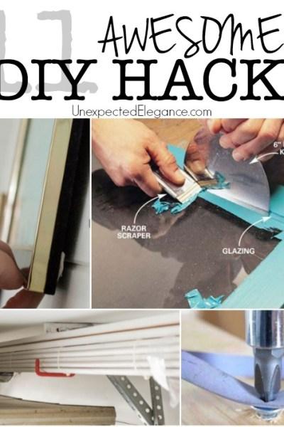 11 AWESOME DIY Hacks