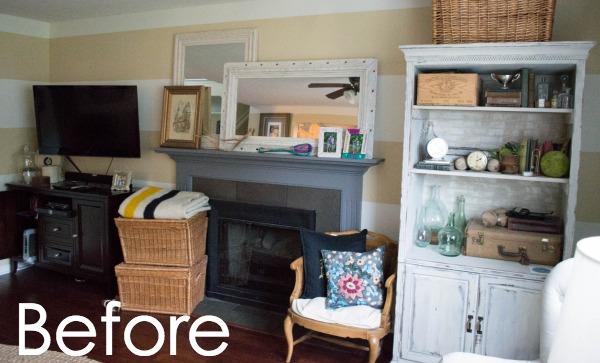 See How To Transform You Your Living Room With DIY Fireplace Built Ins! It Part 97