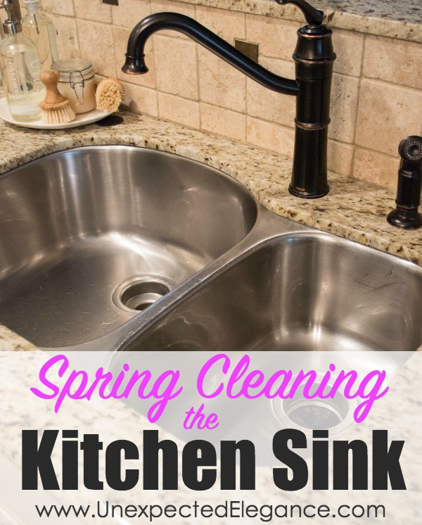 Cleaning My Kitchen: Spring Cleaning And Repair